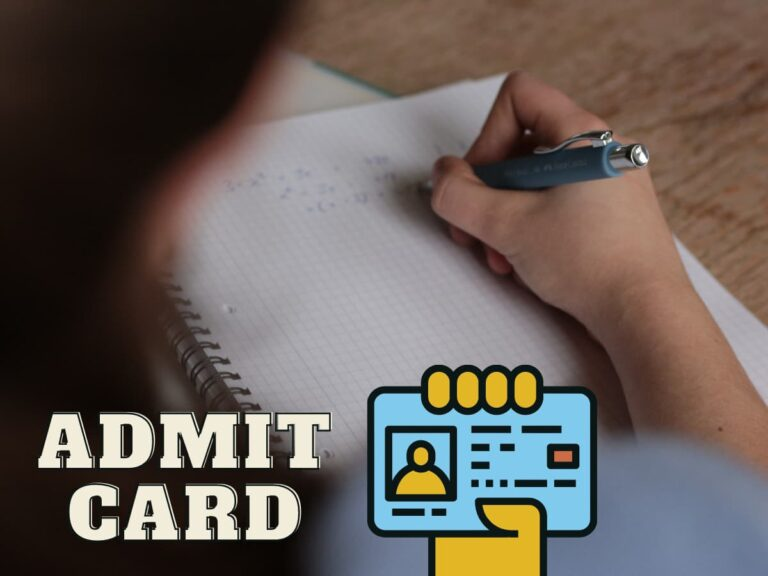 Odisha Combined Auditor Hall Ticket download