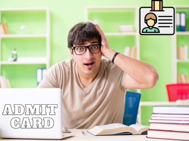 NEET PG Exam Admit Card