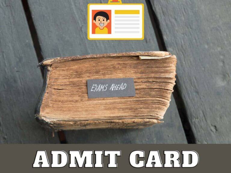 HPSC HCS Admit Card 2021 Released for HCS Ex Br & Other Allied Services Exam