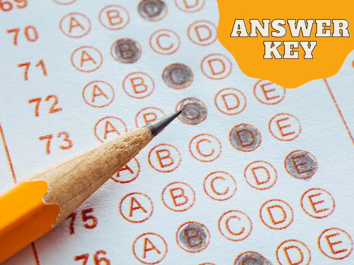 UP B.Ed JEE Answer Key August 2021 for Today's Exam ...
