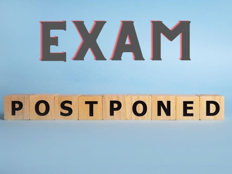 reet exam postponed news