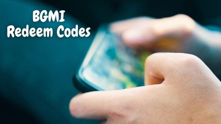 bgmi redeem codes today