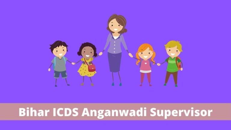 Bihar ICDS Anganwadi Supervisor Merit List