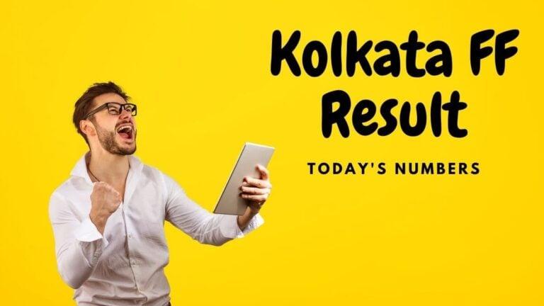 Kolkata FF Result live link