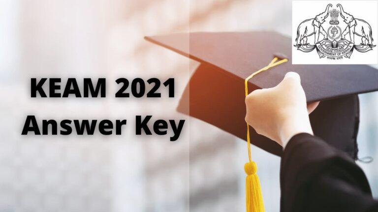 keam answer key