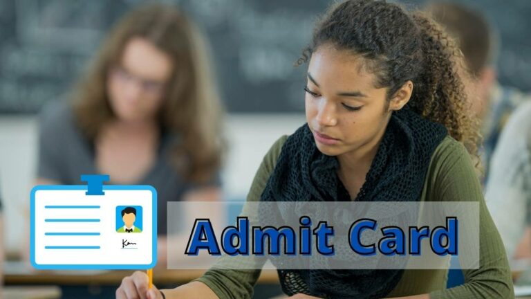 NBE Admit Card download link