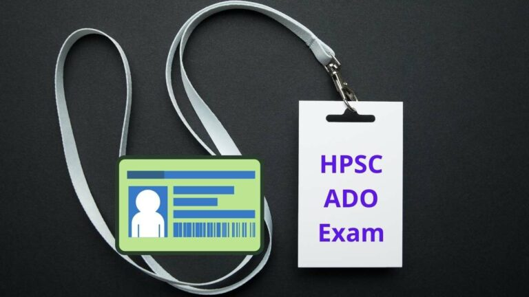 HPSC ADO Admit Card release