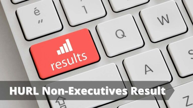 HURL Non-Executives Result date