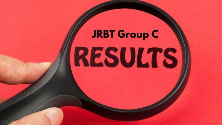 JRBT Group C Result