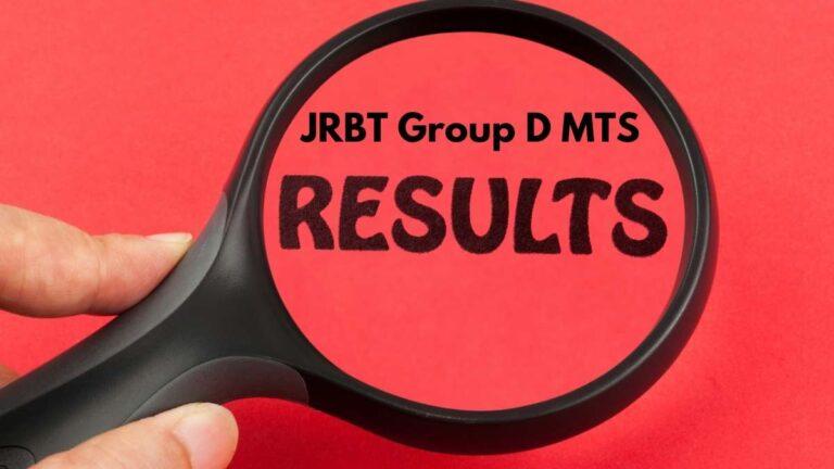 JRBT Group D MTS Result