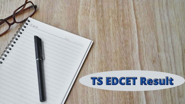 TS EDCET Result date