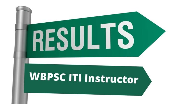 WB ITI Instructor Result