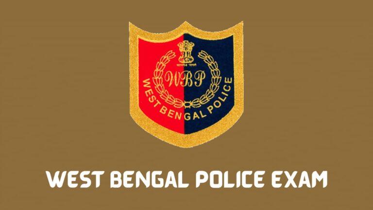 wb police result