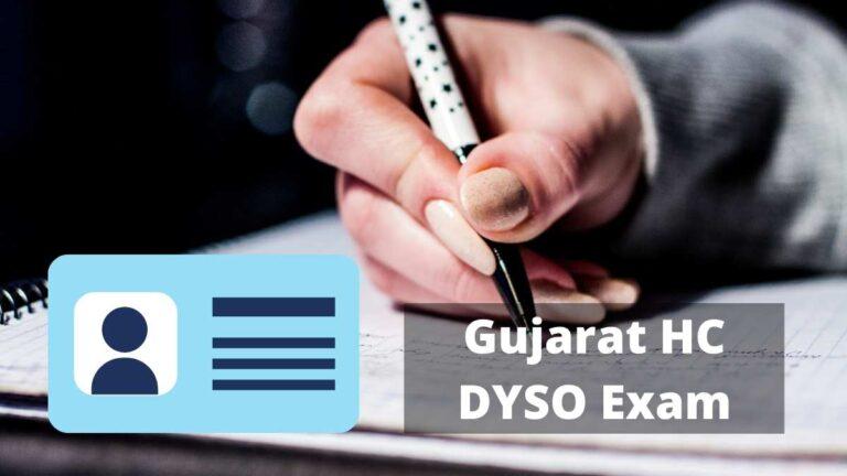 GHC DYSO Admit Card