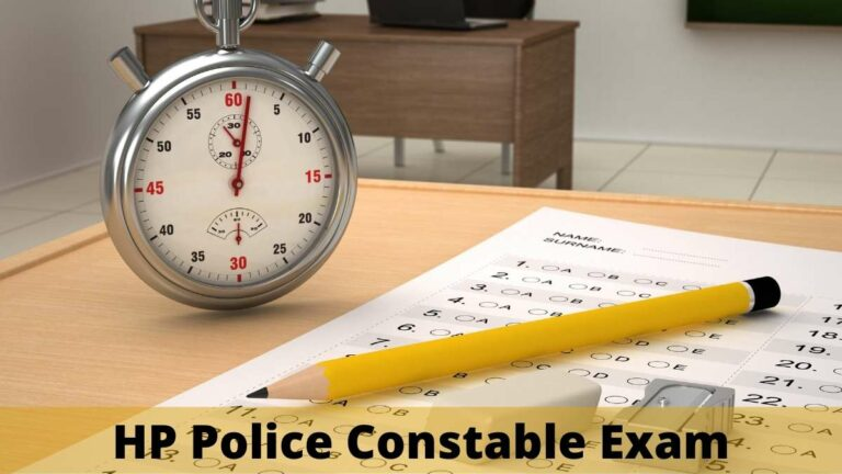 HP Police Constable Admit Card download