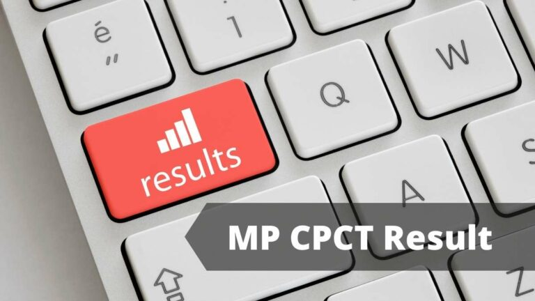 MP CPCT Result date