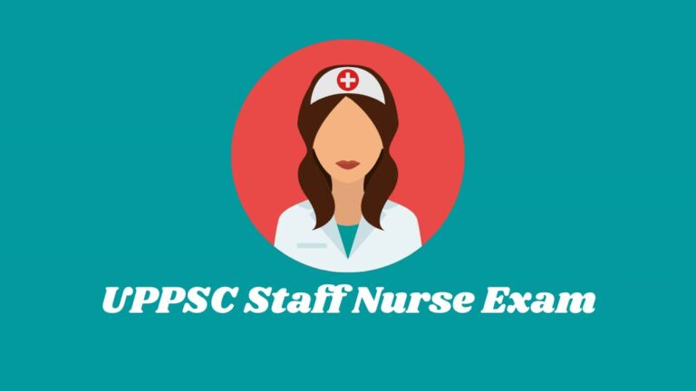 uppsc staff nurse result